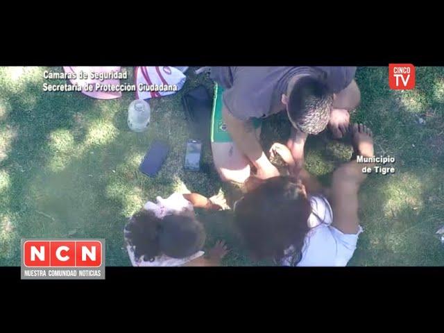 CINCO TV - Niña accidentada fue asistida inmediatamente gracias a un tótem de seguridad del COT