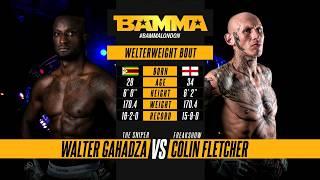 BAMMA 34: Walter Gahadza vs Colin Fletcher