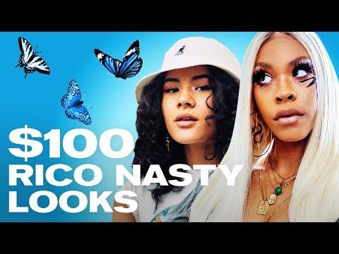 We Recreated Rico Nasty's Most Iconic Outfits (SHE WAS SHOOK) ~ NAYVA Ep #30 ~ FASHION & BEAUTY - Видео онлайн