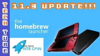How to fix Homebrew Launcher and NTR for 3DS 11.3 firmware