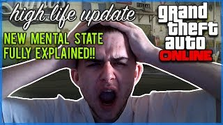 GTA Online - NEW Mental State Stat Full Details & Explained [HIGH LIFE UPDATE]