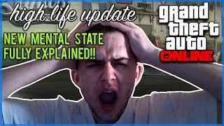 GTA Online - NEW Mental State Stat Full Details & Explained [HIGH LIFE UPDATE]