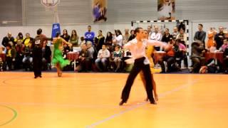 Vítor Fernandes & Luísa Lima - Adultos Open Latinas, ChaCha - 1/2 final - 1º CN 2013