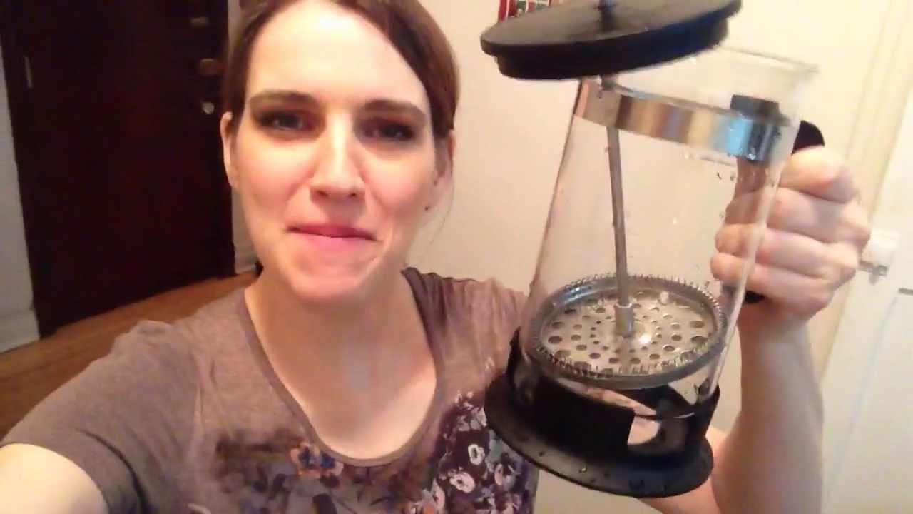 French Press Coffee Maker Review Youtube Ikea Upphetta Tea 04l Glass Ampamp Stainless Steel