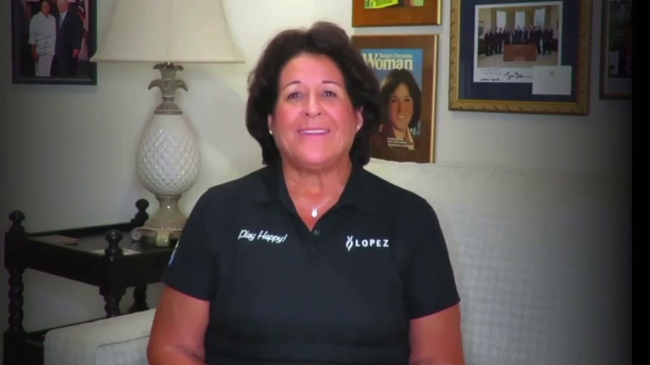 Nancy Lopez talks about being the first Hispanic player on LPGA Tour