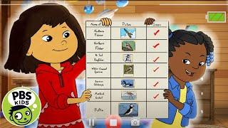 Molly of Denali   Molly and Trini's Bird List!   PBS KIDS