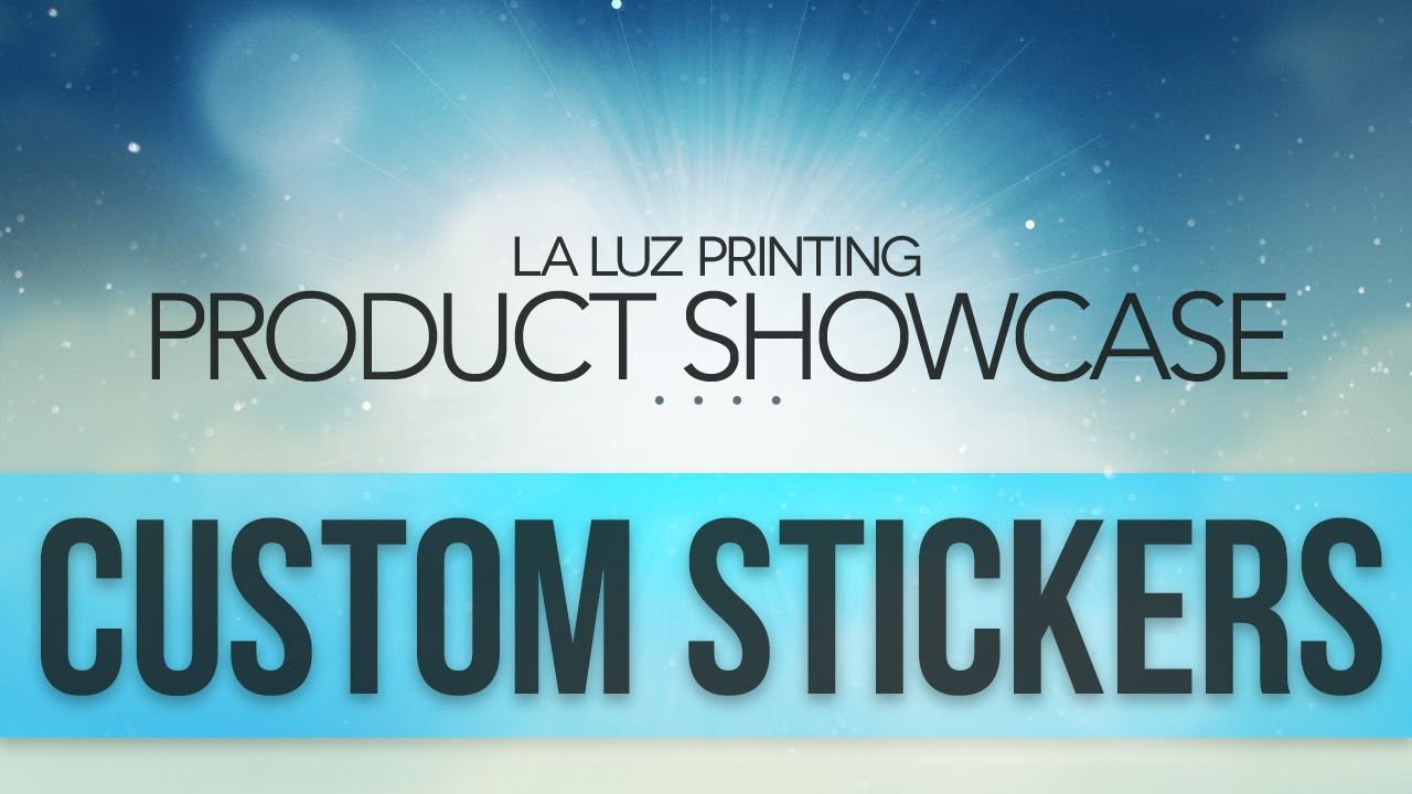 Custom stickers san antonio tx 210 202 1800 la luz printing company