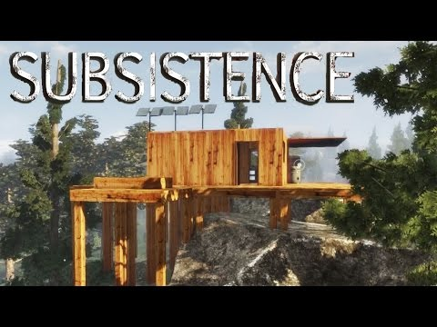 Subsistence - Solar Panel Array, Work Bench Installed, Base Second Story - Gameplay Highlights Ep 14