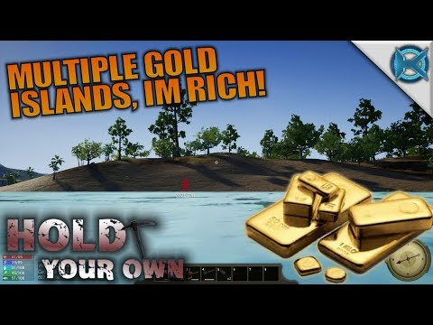 MULTIPLE GOLD ISLANDS I'M RICH! | Hold...