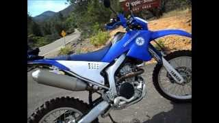 Dual Sport WR250R helmet camera at the Copley / Chappie OHV Area in Shasta County California