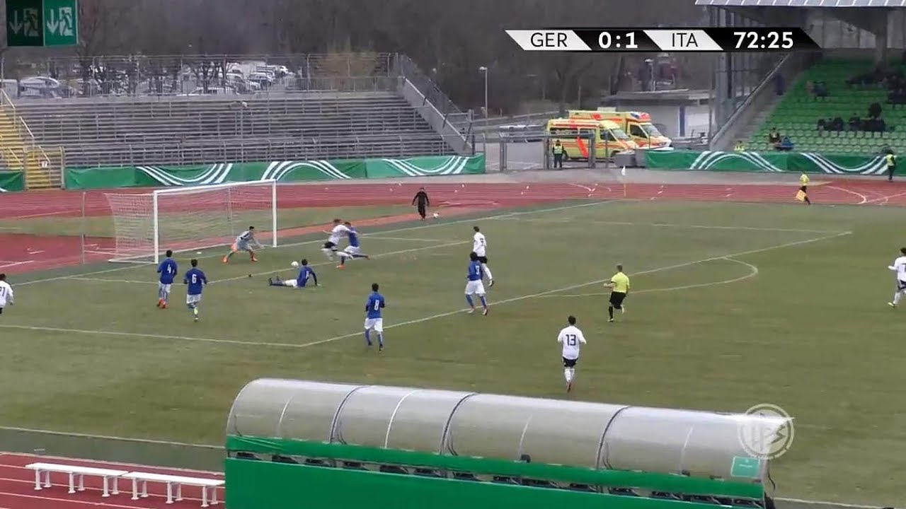 U 16 Junioren Highlights Deutschland Gegen Italien Youtube