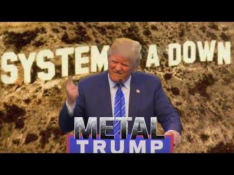 Brother Wease - Video: President Trump Singing Trump Singing Chop Suey