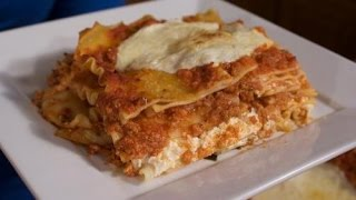 Classic Three Cheese Lasagna - Italian Recipes By Rossella Rago - Cooking With Nonna