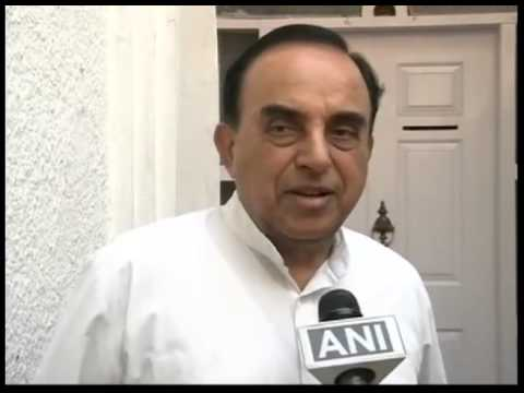 Dr Subramnaian Swamy says its Joke to Compare Rahul Gandhi ...