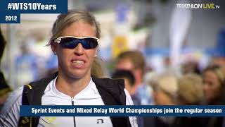 Top Moments from #WTS10Years - 2012 WTS Stockholm adds sprint distance and mixed relay events
