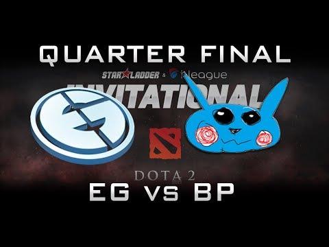 EG vs BP - Roster Debut! Starladder 2017 Minor NA Highlights Dota 2