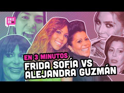 Así EMPEZÓ la pelea de Alejandra Guzmán y Frida Sofía | En 3 minutos
