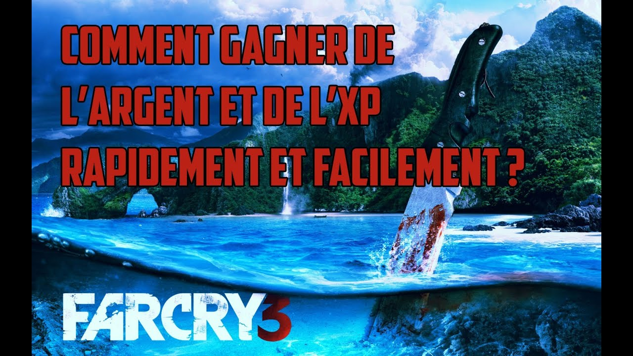far cry 3 bonus astuce comment gagner de l 39 argent facilement par walk3n youtube. Black Bedroom Furniture Sets. Home Design Ideas