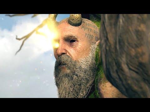 God of War PS4 - Mimir calls Kratos Ghost of Sparta