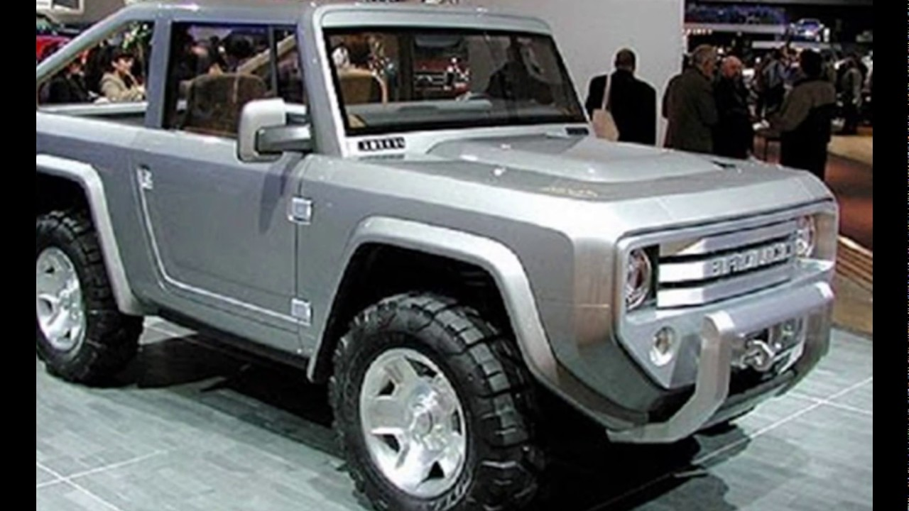 2018 Ford Bronco Luxury Redesign Changes Concept  YouTube