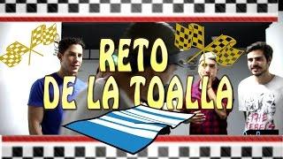 CHRISTIAN CHAVEZ , YAGO MUÑOZ, ALEX SIRVENT EN EL RETO DE LA TOALLA