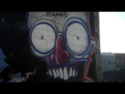 Morgan Ave- Bushwick, Brooklyn- Full block of Street Art Murals