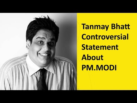 Tanmay Bhatt AIB Controversial Statement...