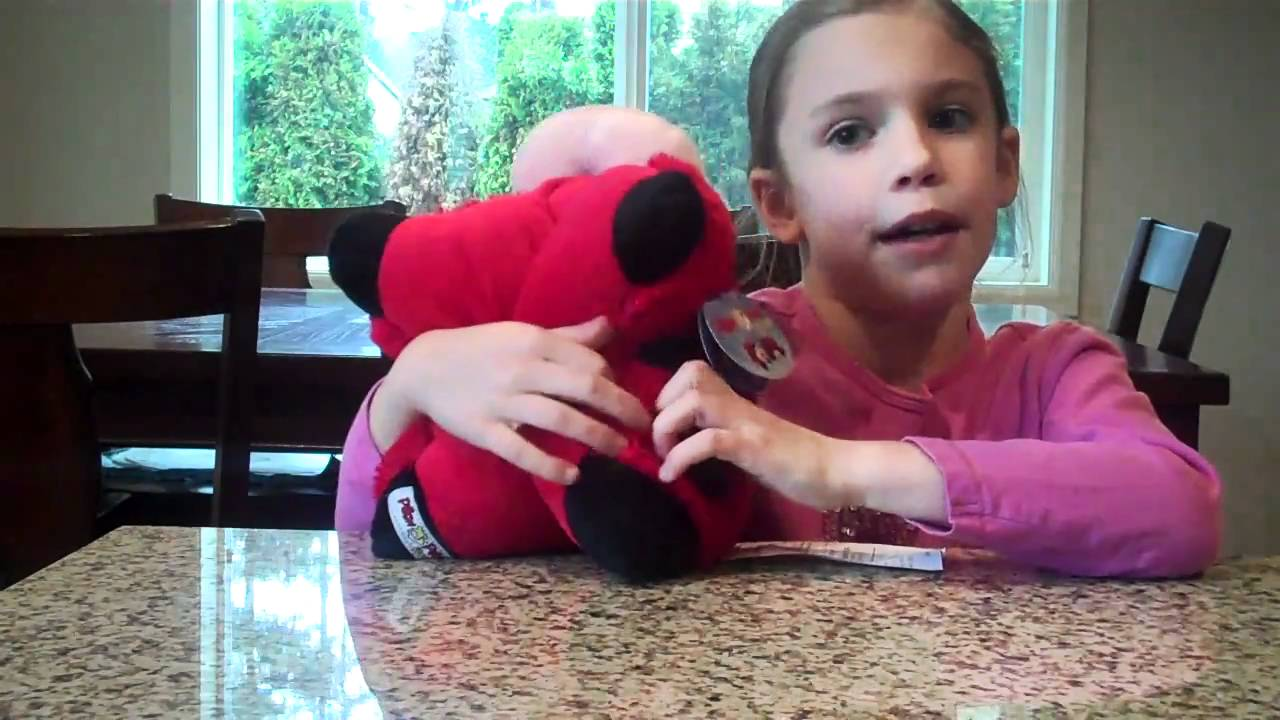 Pee Wee Pillow Pet Review by an 8 Year Old - YouTube