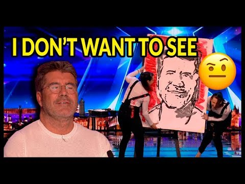 "Top 10 ""WORST AUDITIONS & Acts Go WRONG"" on Britain's Got Talent 2017 - 2018"