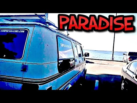 Van Life - Living In A Van Down By The River Jensen Beach, Florida