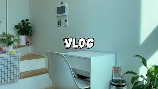 Vlog | 건강한 자취요리와 복층원룸 인테리어 | 밤…