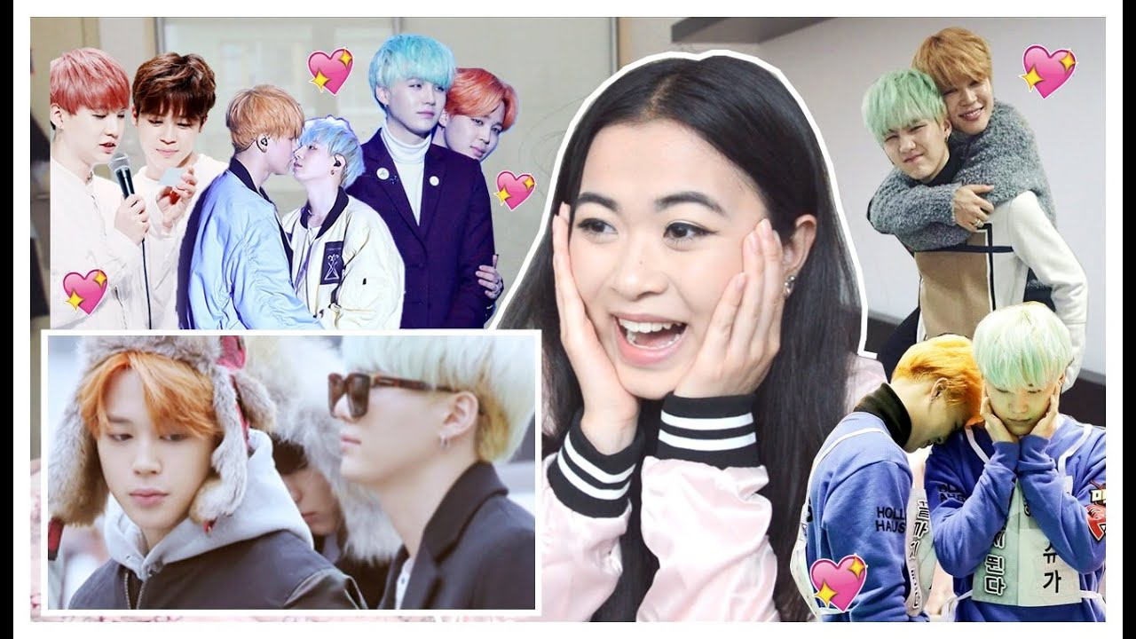BTS OTP SHIPS ♡ YOONMIN MOMENTS REACTION! [HOW CUTE AND ADORABLE ARE THEY]
