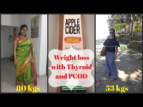 apple-cider-vinegar-for-fast-weight-loss,-pcod,-thyroid-(science-backed) my-weight-loss-story