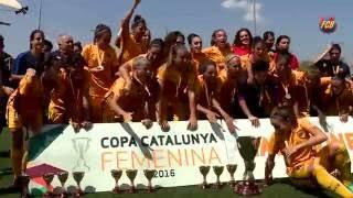 [HIGHLIGHTS] FUTBOL FEM (Copa Catalunya): FC Barcelona – Espanyol (6-0)