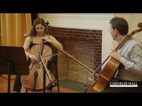 Vienna Philharmonic Cello Master Class with Tamás Varga: Brahms Symphony No. 2