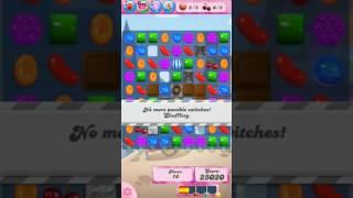 Candy Crush Saga Level 523 - NO BOOSTERS