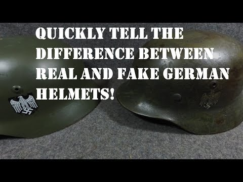 How To Tell If a WW2 German M35 Helmet is Original or Reproduction *IMPORTANT TO KNOW*