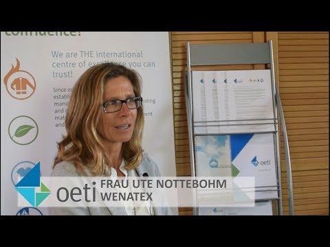 Interview mit Frau Ute Nottebohm: Wenatex Schlaffsystem und OETI Zusammenarbeit. OETI 50 Years