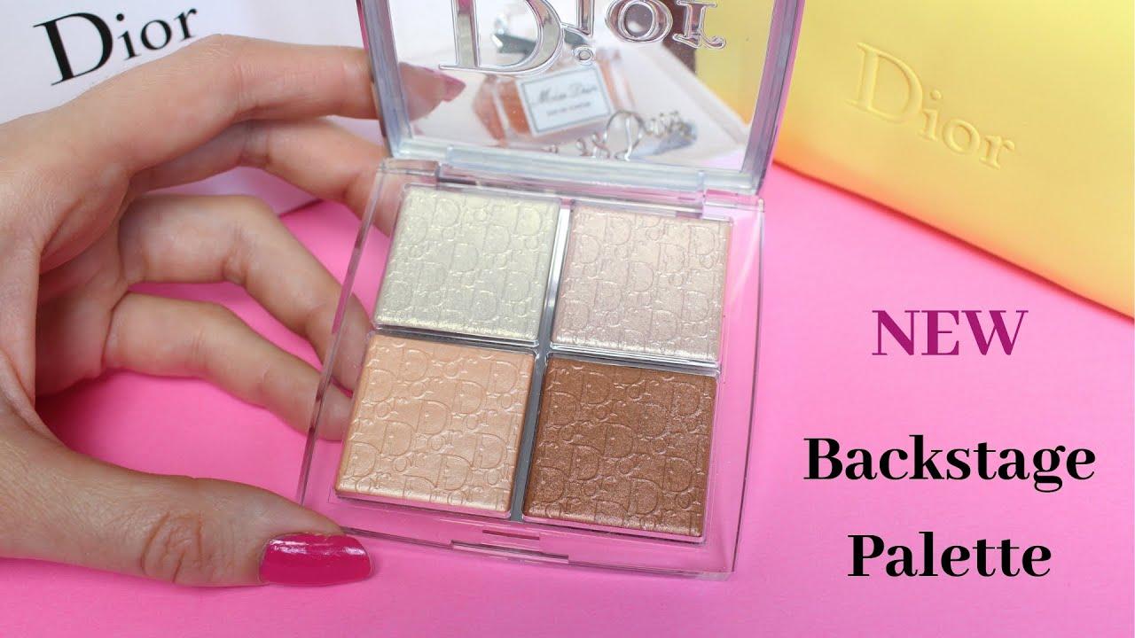 Backstage Glow Face Palette - 002 Glitz by Dior #8