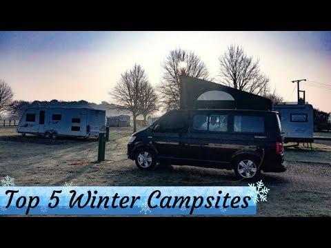 Top 5 Winter Campsites