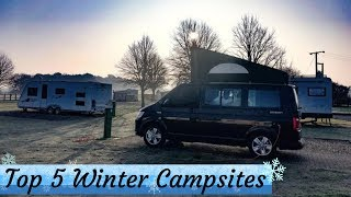 Top 5 Winter Campsites