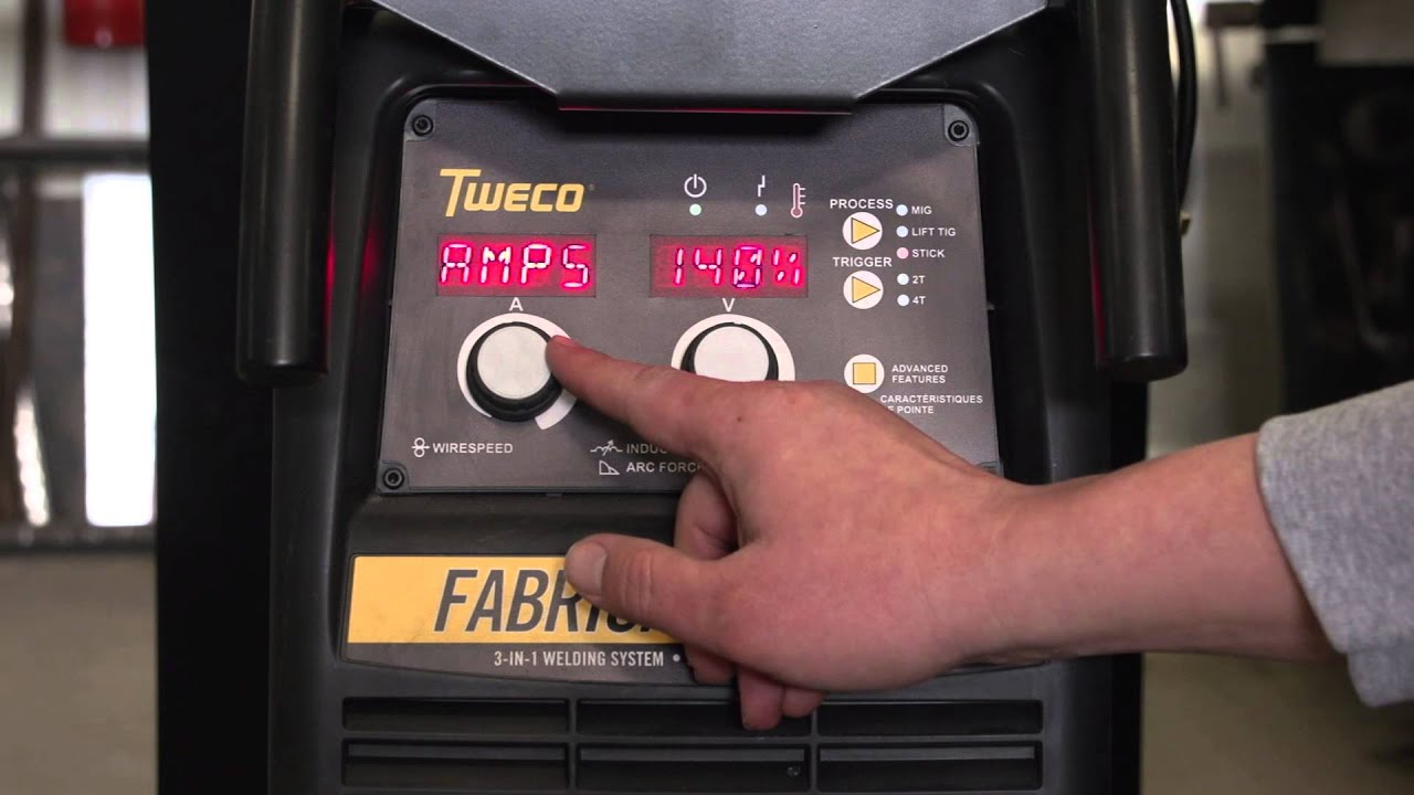 Tweco Fabricator 3 in 1 Welder Features