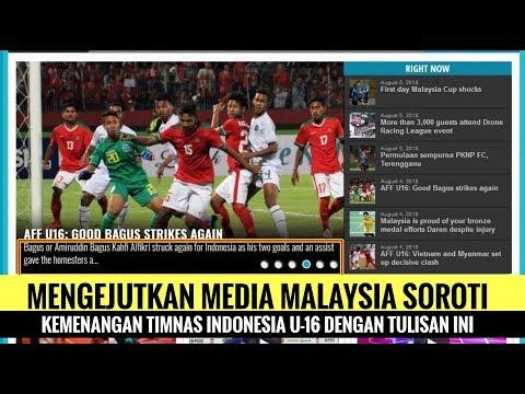 Mengejutkan! Media Malaysia Soroti Kemenangan Timnas Indonesia U-16 Dengan Tulisan Ini