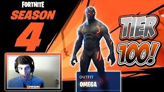 FORTNITE SEASON 4 BATTLE PASS FIRST LOOK! (I GOT AN ICON!?)