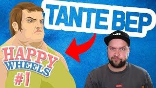TANTE BEP IN ACTIE! (Happywheels #1)