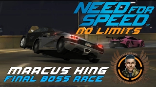 Final Boss Race Marcus King Koenigsegg CCX Need for Speed No Limits Gameplay