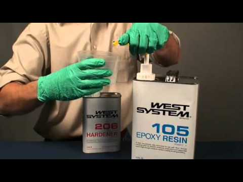 Installing and Using WEST System Epoxy Mini Pumps