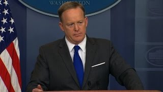 Spicer pushes back on wiretapping questions