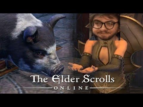 Мэддисон против тортов в The Elder Scrolls Online