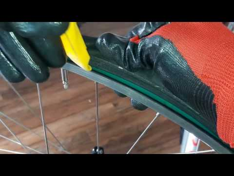 Changing your bike tire & adding Tuffy Liner